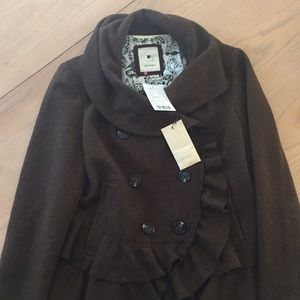 Anthropologie Elevenses wool jacket